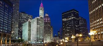 Wrigley Building and Pioneer Court