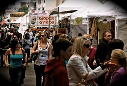 Union Street Fair crowd