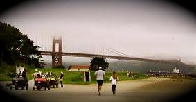 On Crissy Promenade