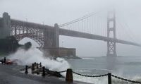Stormy Fort & Bridge